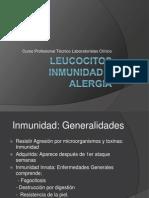 Leucocitos inmunidad y alergia