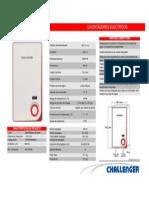 Calentador Electrico WH-7610-E Blanco