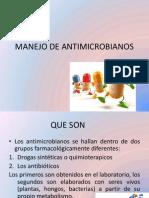 Manejo de Antimicrobianos