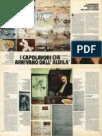 I capolavori che arrivano dall'aldilà (Domenica del Corriere)