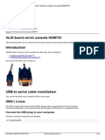 Alix Board Serial Console Howto