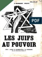 Les Juifs Au Pouvoir