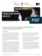 AP-NORC Center and MTV_Digital Abuse Study_FINAL