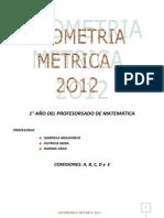 Apunte de Geometria Metrica