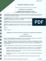 Reglamento ONCAE