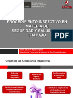 Ponencia 06 - Procedimiento Inspectivo en Sst - Obras de c.c.