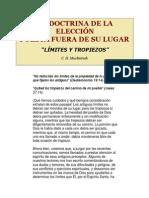 LA DOCTRINA DE LA ELECCIÓN
