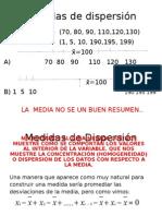 Dispersión 5 Presentación