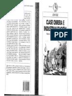 24275310 Rule John Clase Obrera e Industrializacion Historia Social de La Revolucion Industrial Britanica 1986