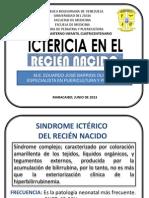 CLASE 6. ICTERICIA NEONATAL Y CALCULO DE HIDRATACION EN EL RN.pptx