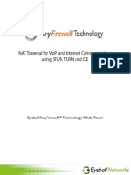 NAT Traversal for VoIP and Internet communications using STUN, TURN and ICE