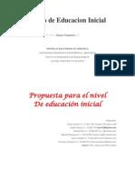 Curriculo de Educacion Inicial año 2007