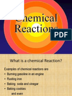 chemical reactions pp