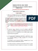Examen de Ordenamiento Territorial