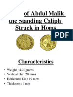 Dinar of Abd al-Malik_The Standing Caliph.ppt