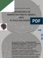 Comunicarea de Marketing a Marcii Oreo
