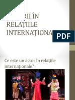 Actori in Relatiile Internationale