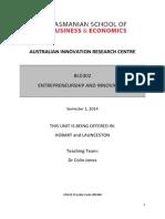 bld302 entrepreneurship and innovation 1 20141