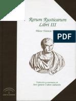 LIBRO - MARCO TERENCIO VARRÓN - RERUM RUSTICARUM - LIBRO III (2)