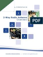 Galtronics LMP / LMR Antenna Catalog January 2014