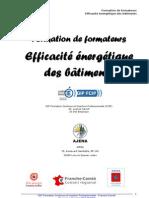 Presentation Formation Formateur Efficacite Energetique Novembre 2009 Franche-Comté