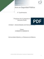 Unidad 1.Generalidades Del Derecho Penal