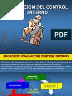 Diapositivas 315 - Evaluacion Control Interno
