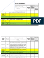 Florida DOE Proposed Changes to Common Core ELA Standards