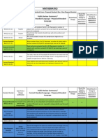 Florida DOE Proposed Changes to the Common Core Math Standards