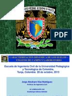 1 - Caracterización dinámica de suelos - Díaz-Rodríguez