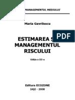 MG III Estimarea Managementul Riscului