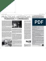 Prácticas Artísticas pedagógicas y comunidades_Fernando Escobar, Juan alberto Gaviria y Nicolás Uribe