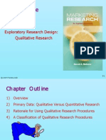 Marketing Research Module 5 Qualitative Research