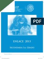 Enlace 1 Secundaria 2013