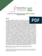 SERVIÇO SOCIAL APROPRIAÇÃO DA TEORIA SOCIAL MARXISTA