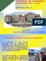 CAP I. INTROD.A LA TOPOGRAFÍA - ING. NHG- Civiles