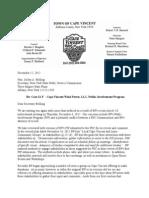Document #26-113 BP- CVWF -Comments 12/12/12