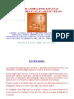 Proyecto Curso de Verano Ajedrez