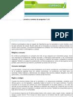 examen de español primer año primera parte