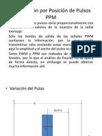 Modulación por Posición de Pulsos PPM