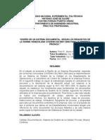 Diseno Sistema Documental Segun Nvc Iso 9001 2000