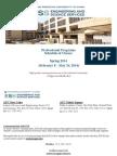 AUC - ESS - Spring 2014 Professional Program Schedule