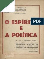 O espírita e a política