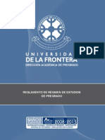 UFRO-Reglamento