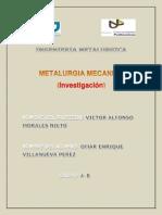 Investigacion Mecanica Metalurgia