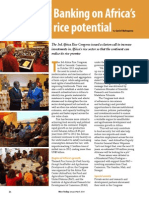 Rice Today Vol. 13, No. 1 Banking on Africa's rice potential