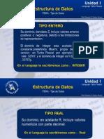 Estructura de Datos.- Unidad i y II