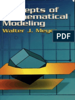 Concepts of Mathematical Modelling