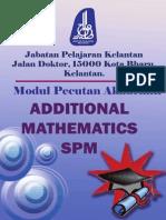 Modul Add Maths 2012