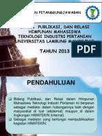Program Kerja Publikasi Dan Relasi